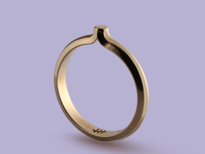 Shapesweeper Octagonal Basic Ring in Polished Bronze: 5.5 / 50.25