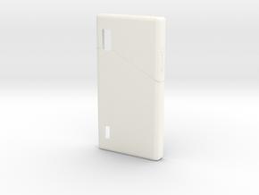 Fairphone Casing in White Processed Versatile Plastic
