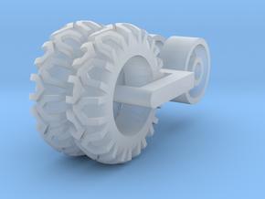 Hay rake wheels in Smooth Fine Detail Plastic