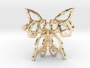 Butterfly Ring in 14k Gold Plated
