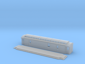 Do5 - Swedish passenger wagon in Smooth Fine Detail Plastic