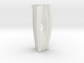 Vase 1111 in White Natural Versatile Plastic