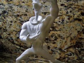 Earthworm Jim 1/8 Scale Figure in White Natural Versatile Plastic