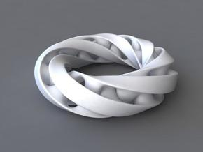Moebius ring in White Strong & Flexible