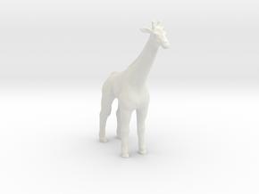 Printle Thing Giraffe - 1/87 in White Natural Versatile Plastic