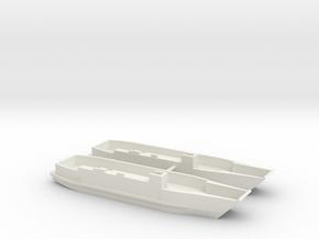 1/285 LCU1610 - Landing Craft Utility (x2) in White Natural Versatile Plastic