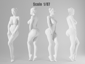 1:87 Sexy little girl in 2cm-011 in Frosted Extreme Detail
