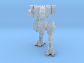 Neugen Battle Walker (2 Inch Version) - Pose 02 in Smooth Fine Detail Plastic