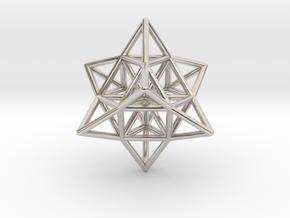 Pendant_Cuboctahedron_Star_without eyelet in Platinum