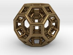 Pendant_468-Small in Natural Bronze