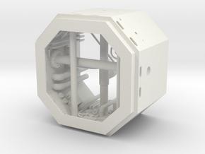 DeAgo Falcon Main Hold Floor Pit 1 cut it to hight in White Premium Versatile Plastic