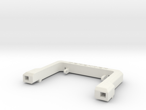 Defender A-Frame Protection Bar - MadDogRC in White Premium Strong & Flexible