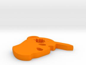 Counter-Strike Headshot Charm in Orange Processed Versatile Plastic