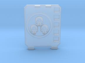 APC hatch Left [Triple  skull] in Smooth Fine Detail Plastic