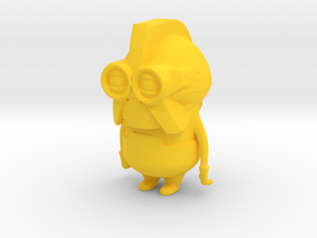 Cylon Minion in Yellow Processed Versatile Plastic