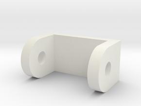 G1 Red-Alert / Sideswipe Roof Hinge replacement in White Premium Versatile Plastic