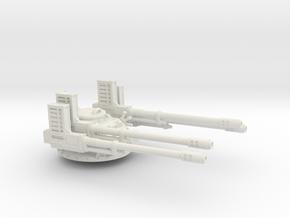 28mm APC Anti-aircraft turret in White Premium Versatile Plastic