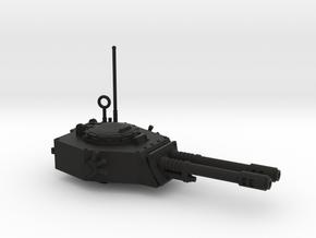 28mm APC turret with 2x auto guns in Black Premium Versatile Plastic