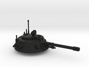 28mm IFV round turret auto cannon in Black Premium Versatile Plastic