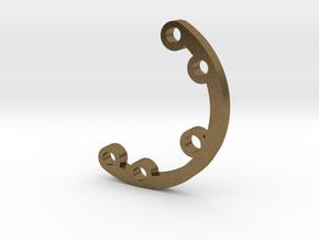 Rad fin 2 in Natural Bronze