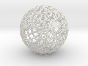 Totobol in White Natural Versatile Plastic