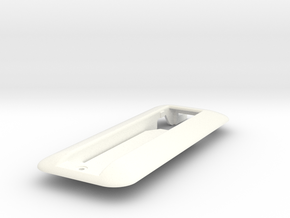 Ferrari Alfa Lancia Sunroof handle frame in White Processed Versatile Plastic