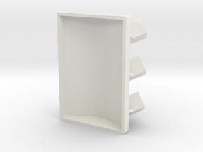 1:144 Skorpion MIWS M548 - Extension in White Natural Versatile Plastic: 1:144