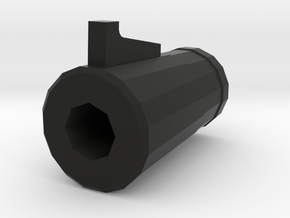 "TF2 ""Classic"" Sniper Rifle Muzzle (14mm Self-Cutti in Black Strong & Flexible"