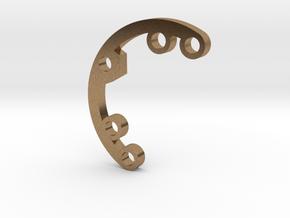 A series Rad FIn 1 in Natural Brass