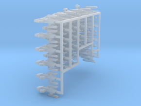 MicroFleet Kzouti for Kingkaiju, v3 in Smooth Fine Detail Plastic