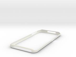 Galaxy S7 Edge Bumper  Samsung in White Premium Versatile Plastic