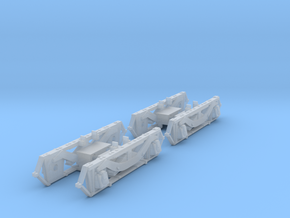 HO GE Steeplecab Sideframes for Bachmann Trucks in Frosted Ultra Detail