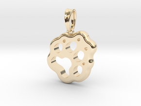 Little Paw in 14K Yellow Gold