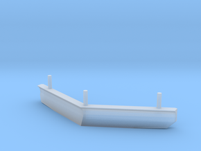 FLIRT Schienenräumer Scale TT in Smooth Fine Detail Plastic