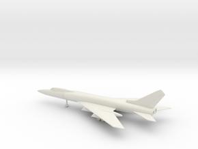 Tupolev Tu-128 Fiddler-B in White Natural Versatile Plastic: 1:200