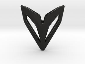 Phantom, Pendant. Space Chic in Black Natural Versatile Plastic