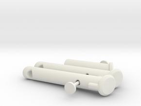 KHD x3 adapter in White Premium Versatile Plastic