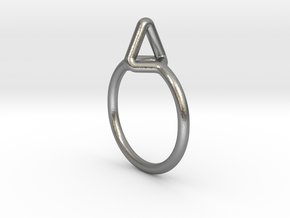 Summit Ring S.02, US size 7.5, d=17,5mm  in Natural Silver: 7.5 / 55.5