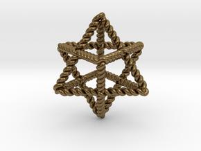 "Star Twistahedron 1.6+"" in Natural Bronze"