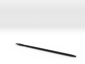 Pikes (fat) in Black Premium Versatile Plastic