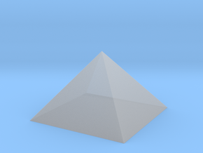 The Pyramid Of Cheops in Smoothest Fine Detail Plastic