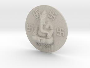 Hindu Ganesha in Natural Sandstone