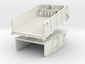 Dumping Deck in White Natural Versatile Plastic