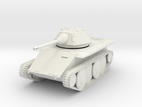 DW18 Leopard Light Tank E-10 (1/48) in White Natural Versatile Plastic