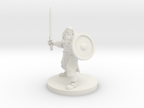 Cleric of Temptest in White Natural Versatile Plastic