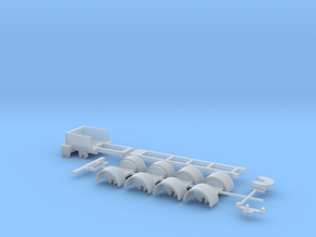 kompletter Rahmen 5ax Spur N  1:160 in Smooth Fine Detail Plastic