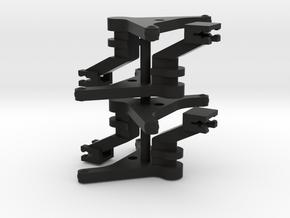 #100Q TT Kurzkupplungsdeichsel in Black Natural Versatile Plastic