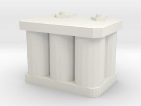 1/10 r/c battery in White Natural Versatile Plastic