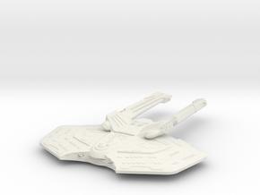 Stingray class  LtCruiser in White Natural Versatile Plastic