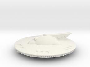 Martian Aelita class Corvette in White Premium Versatile Plastic